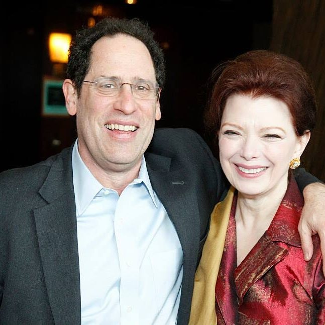 Angela, a non-resident scholar at the Brookings Institution, with the inaugural Centennial Initiative Scholar, Bruce Katz