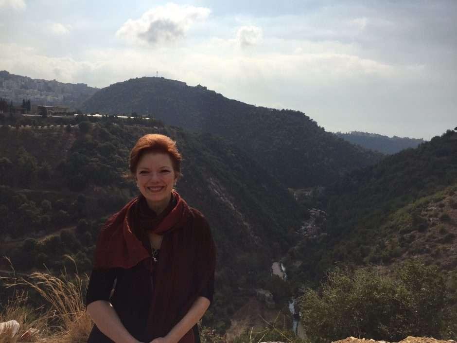Angela in Lebanon